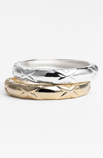 Gold Silver Bangles